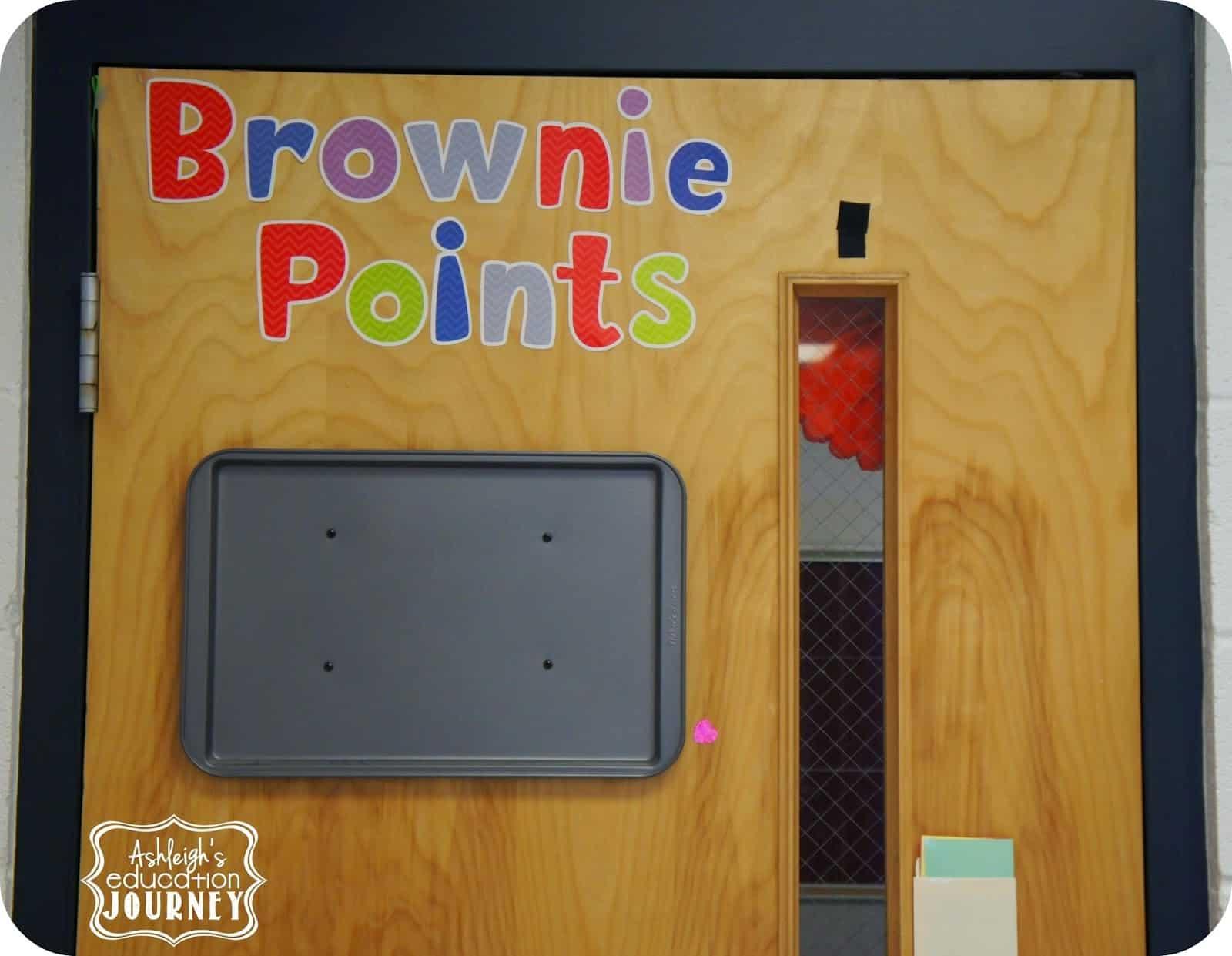 brownie points-classroom rewards