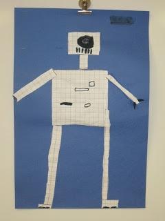 perimeter and area robot, measurement activity