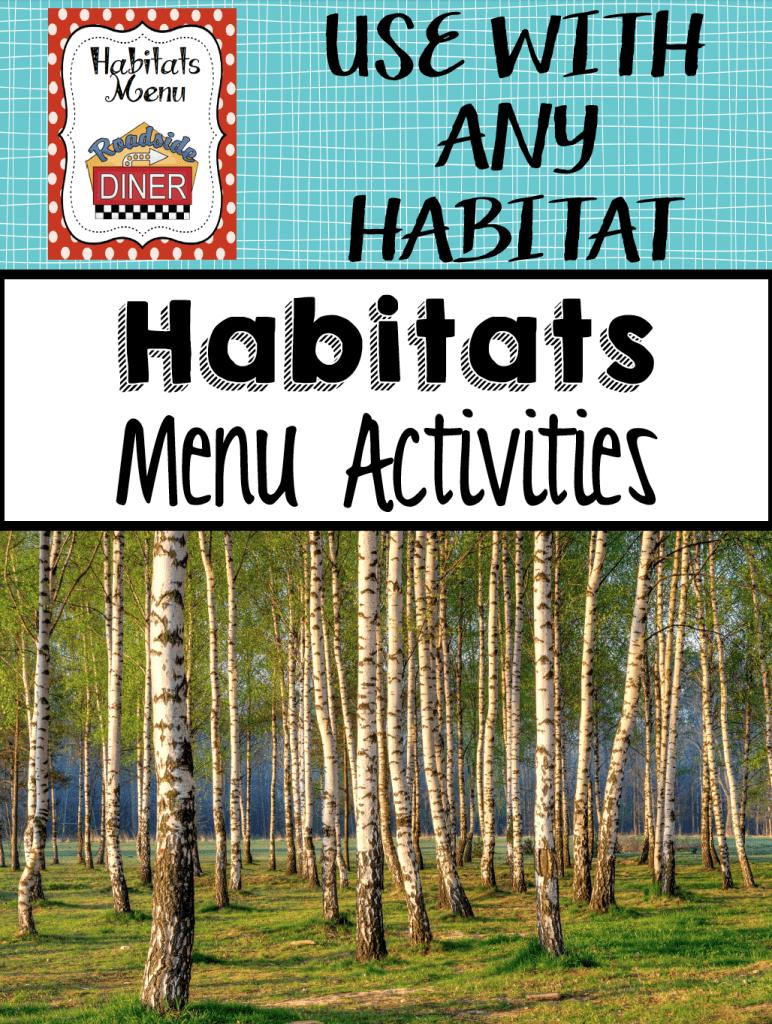 habitats menu