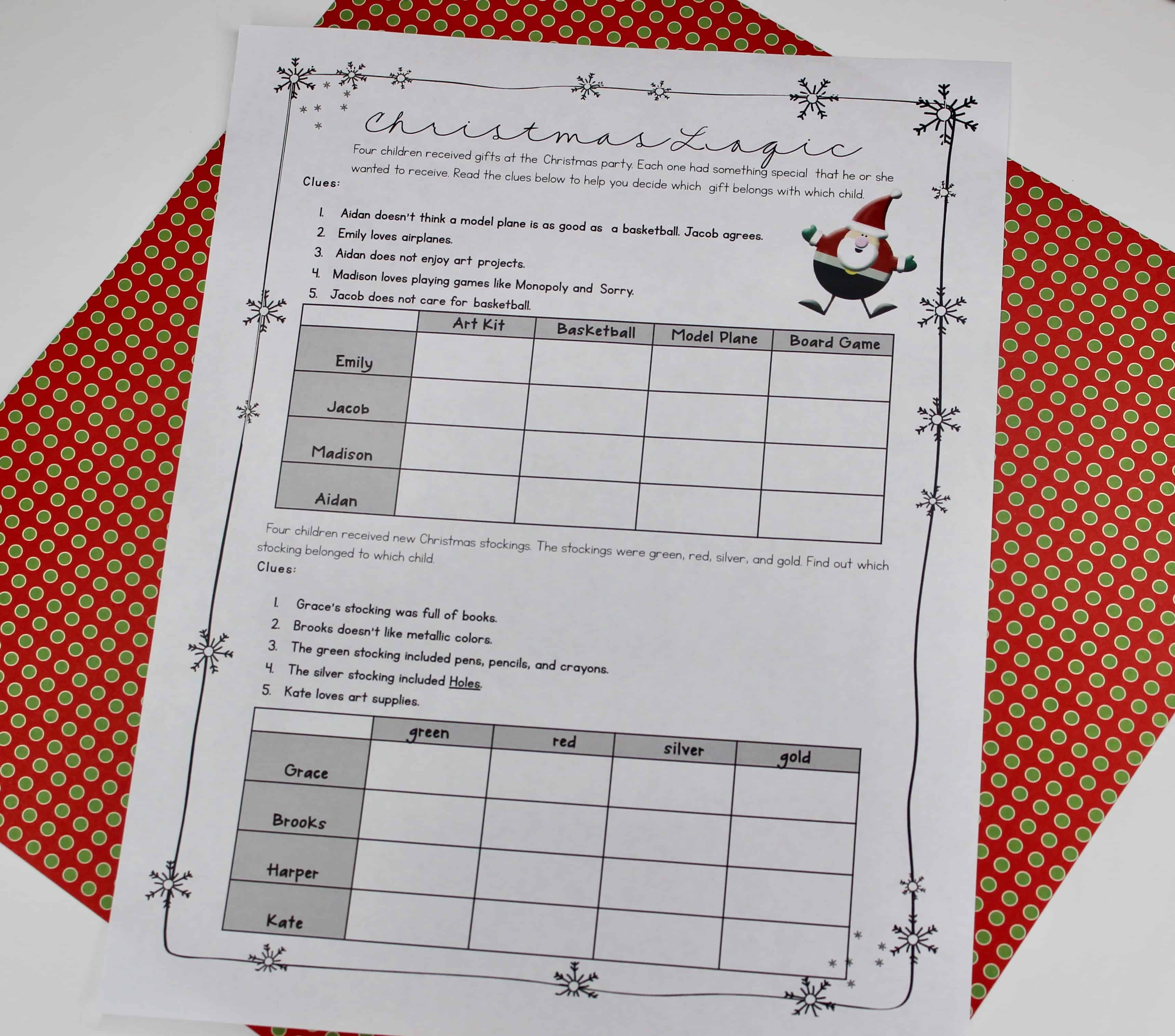 Kids love celebrating Christmas in the classroom, and giving them chances to work out their excitement over the holidays in an academic way has a good purpose to it for teachers! This blog post is full of 12 Christmas activities, including freebies, for upper elementary. Click through to read about the activities and to download the free resources!