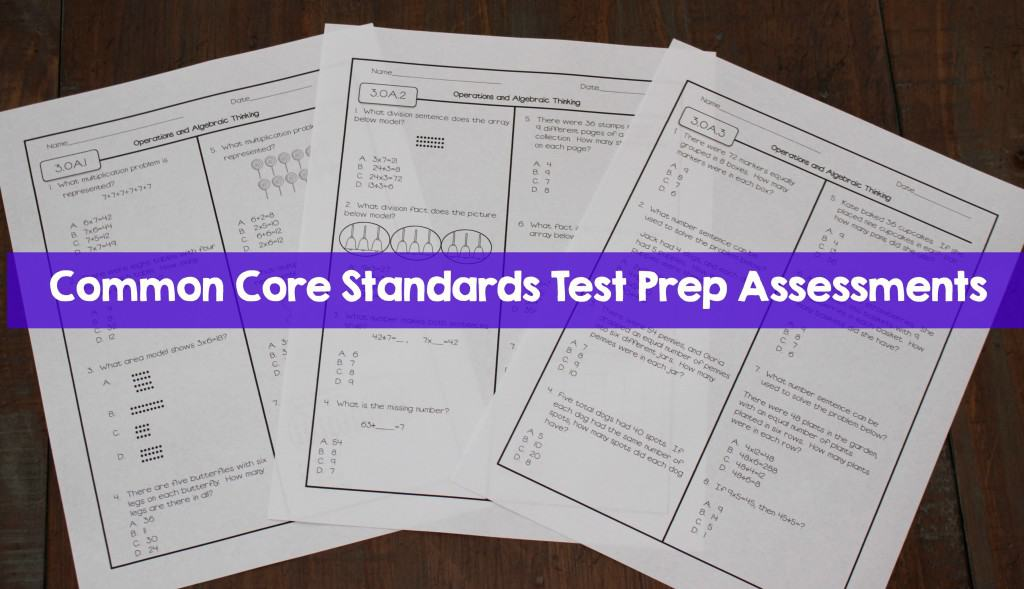 test prep common core standards