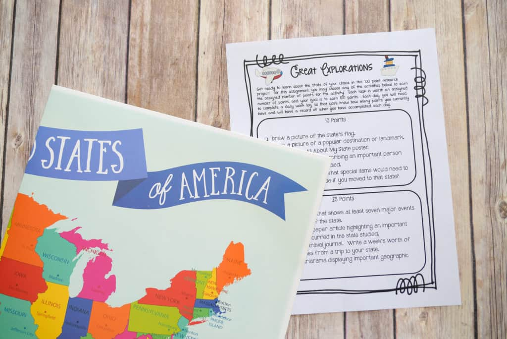 Encourage your upper elementary students to study a U.S. state in more depth with this Great Explorations research project! Kids love learning more about different places, so give them the opportunity to explore a state in America with this project created for 3rd grad, 4th grade, and 5th grade classrooms. Your students will complete research -- great skills for them to learn in elementary school! Click through to read more.