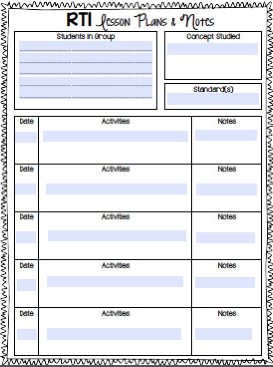 Implementing RTI can be a challenge even when you have all the resources you need, but when you don't? Oof! In this blog post, I'm sharing how I created my own math RTI notebook when I couldn't find the materials I needed to give my upper elementary students the math intervention they needed and to properly document everything. Click through to read!