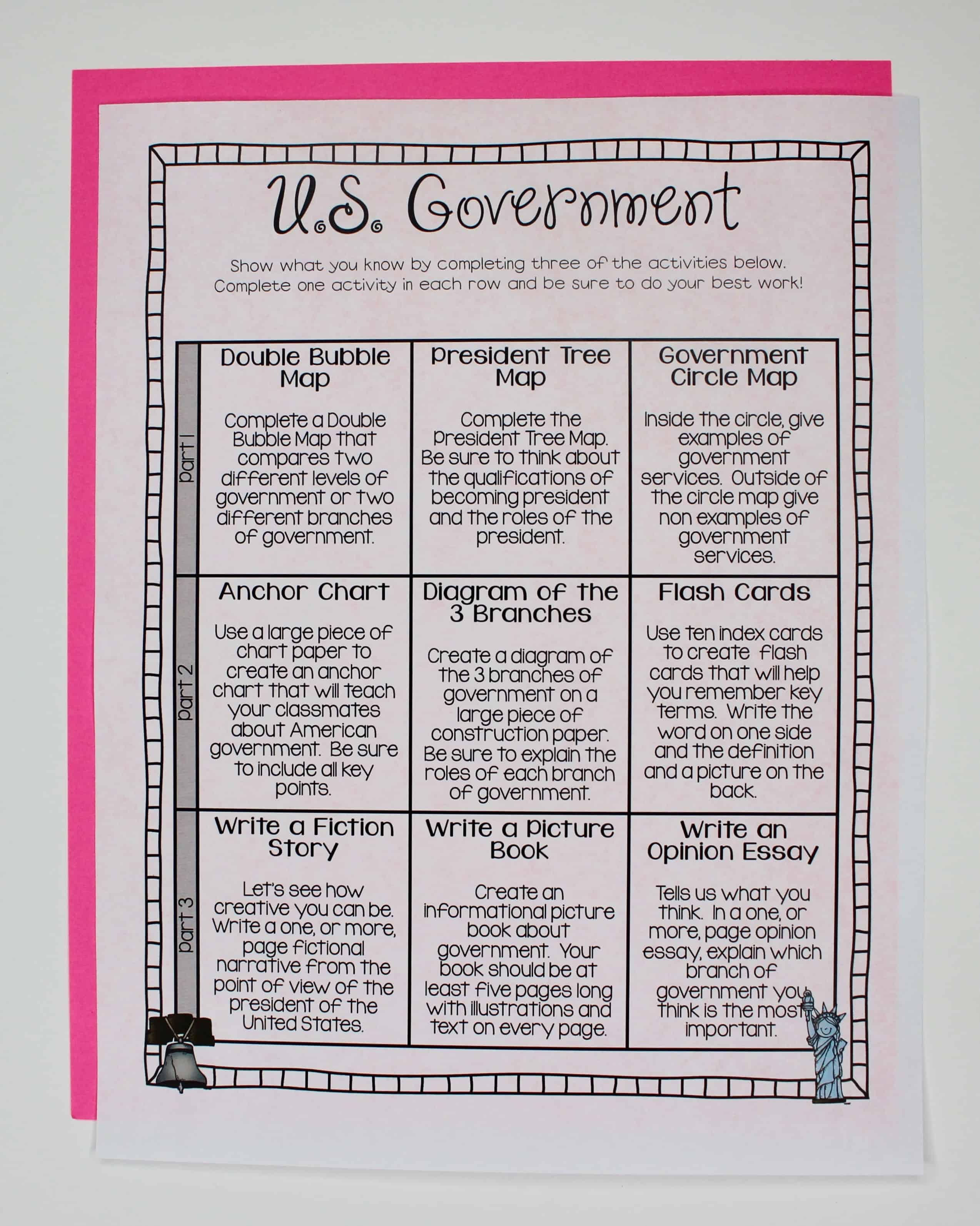 Government close reading ashleighs education journey levels of government close reading passage i tried to keep it really simple so that my students could work on it independently geenschuldenfo Images