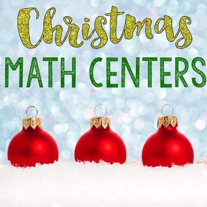 Need some fresh math centers around the winter holidays? I'm sharing a bunch of new Christmas math centers in this blog post! These activities are perfect for a 3rd grade, 4th grade, or 5th grade math classroom. They help your upper elementary students practice Common Core math concepts in engaging and fun ways! Click through to learn more about these fun math centers.
