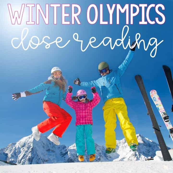 Kids LOVE learning about the Olympics, and the Winter Olympics are just as intriguing to them! To bring a current event into your classroom, use these close reading passages about the Winter Olypmics sports! They are differentiated and created for 3rd grade, 4th grade, and 5th grade English language arts classes. Perfect for helping your students practice reading comprehension while learning about sports and athletes! Click through to read more about these passages.