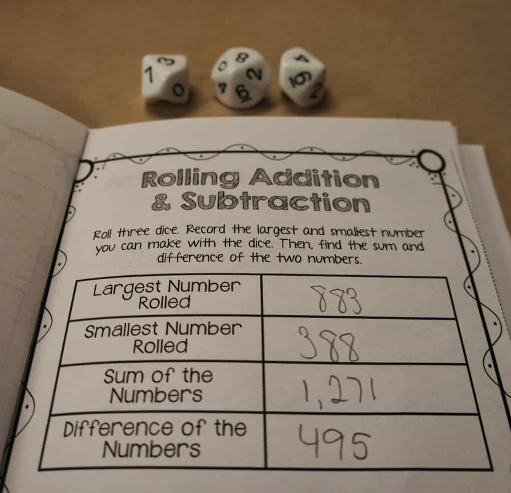 By the time students get to 3rd grade, 4th grade, and 5th grade, they should really have a solid mastery of addition and subtraction concepts. However, it's always a good idea to review at the beginning of the year and before state testing in the spring. I'm sharing some fun, hands-on addition and subtraction activities that you can do with your upper elementary students in this blog post. Click through to read it!