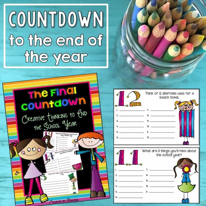 End the school year on a high note with a thoughtful student gift for your upper elementary students! Kids and teachers alike love to have an end of the year countdown because everyone is longing for summer. Still, though, you've had a wonderful school year together full of learning, and student gifts are a great way to end the year on a positive note. Click through to read this post for upper elementary teachers.
