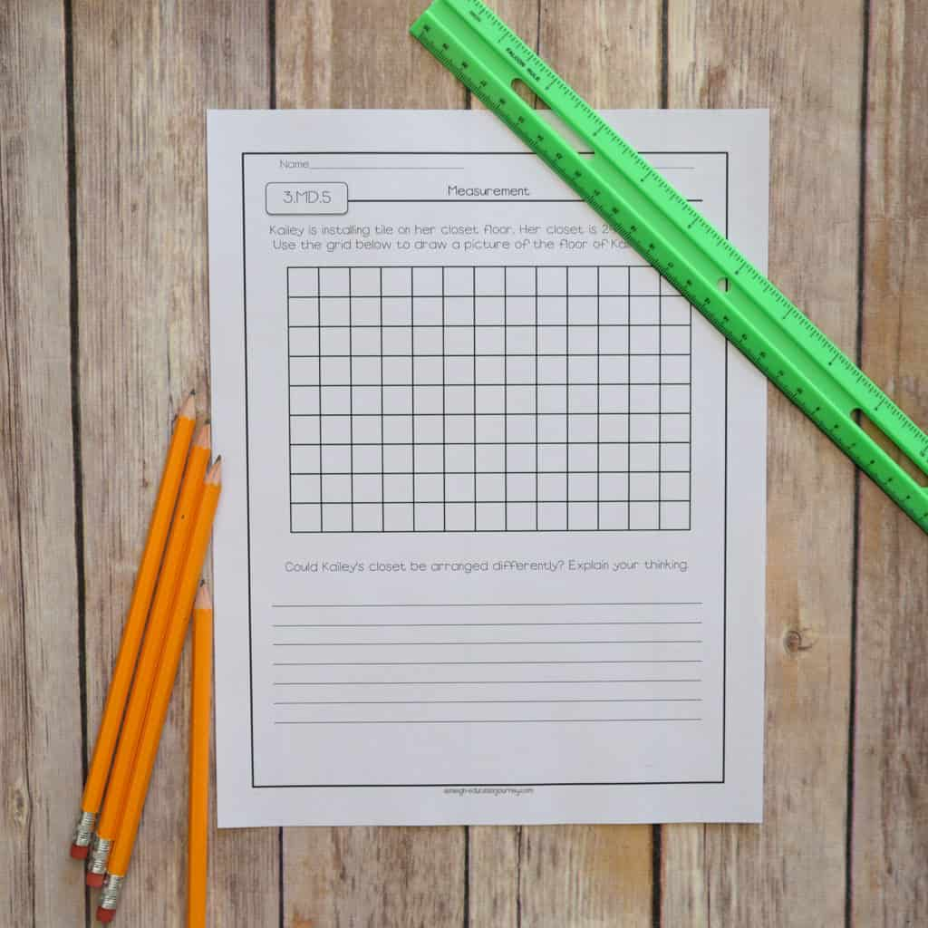 Remove your worry about Common Core assessments with the 4th grade math assessments I've got detailed in this blog post. I've created two math assessments for each Common Core standard, and they're all detailed and pictured here. You'll no longer have to spend hours figuring out which of your students have mastered the standards and which haven't! Click through to learn more about these Common Core assessments.