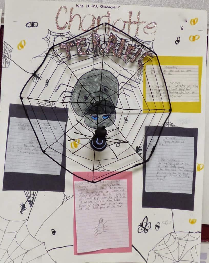 Charlotte's web pumpkin