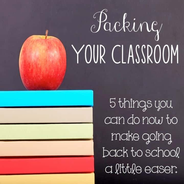 pack up your classroom