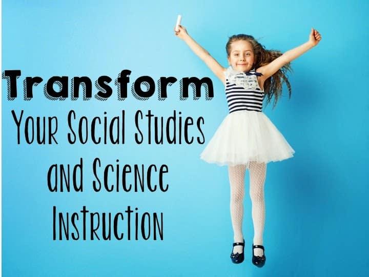 social studies science mini units