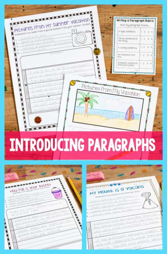 education paragraph writing Asking a student for a well-written paragraph in a response is often used as an assessment tool when a student responds by writing a paragraph in response to a prompt or a text passage, a teacher can use the paragraph to see if a student can write grammatically using grade level vocabulary.