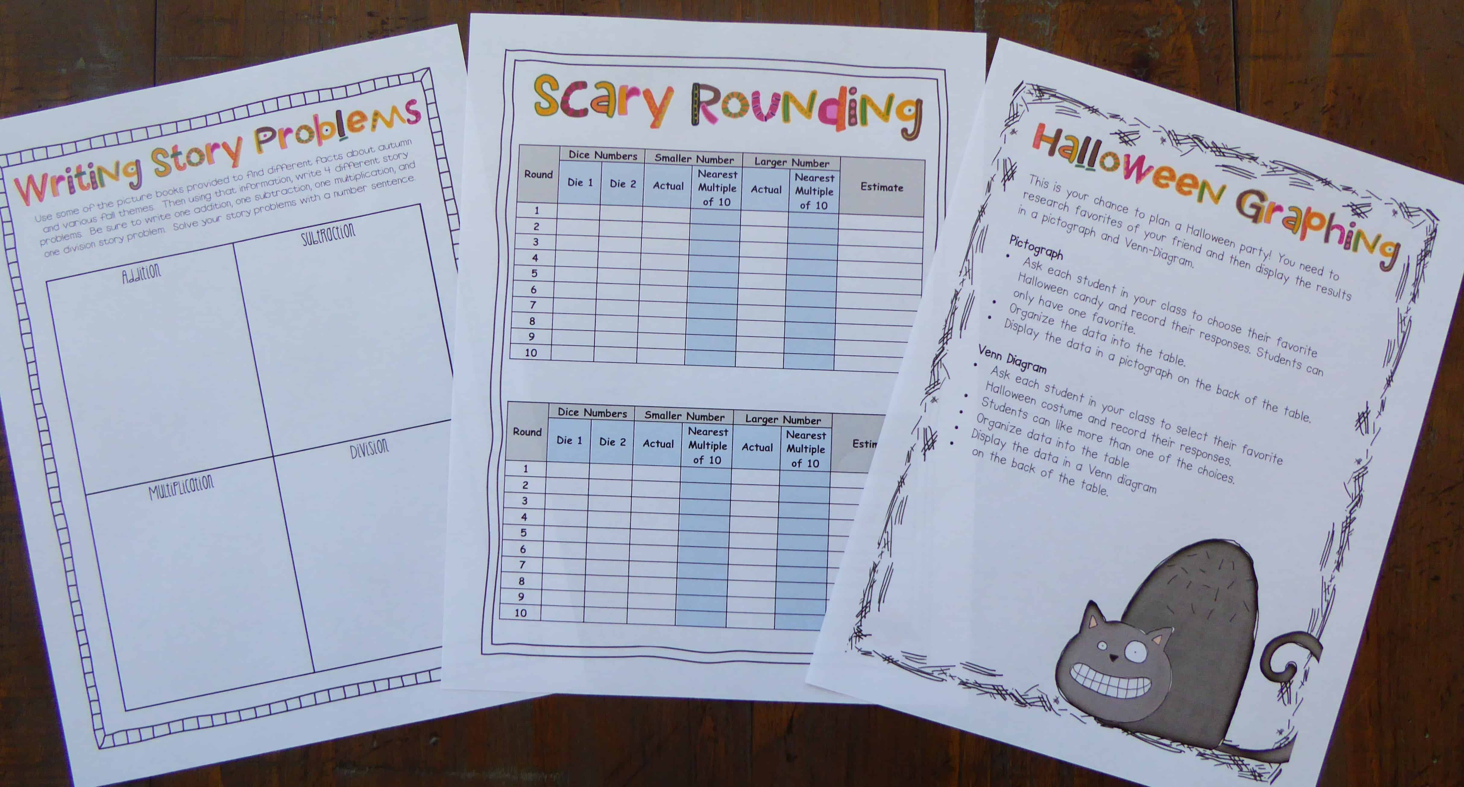 my favorite halloween ideas and resources - ashleigh's education journey