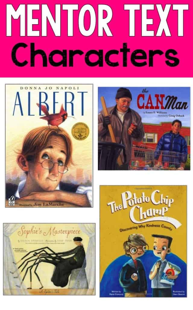 characters mentor text