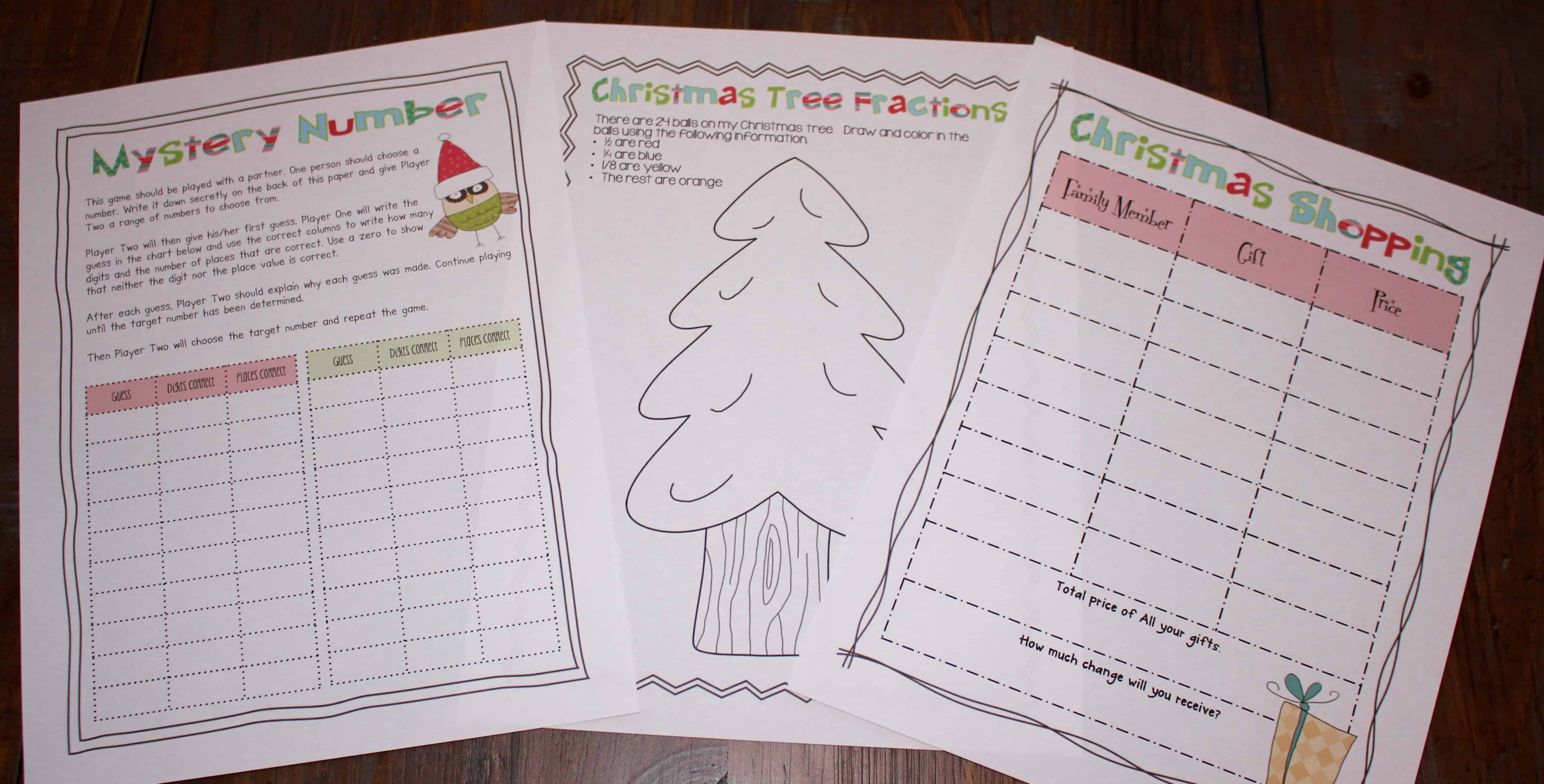Christmas math paired passages and a freebie ashleigh s education