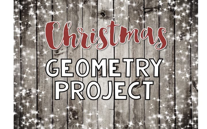christmas geometry project