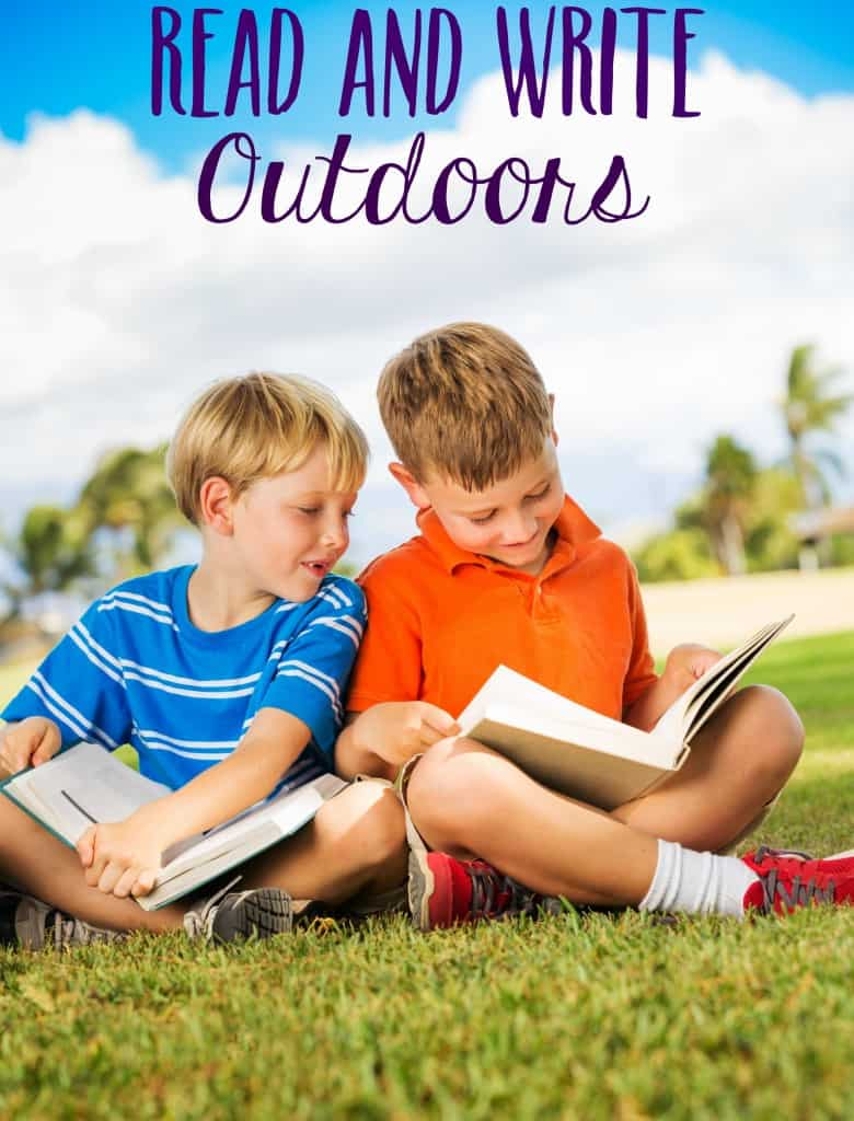 read outdoors