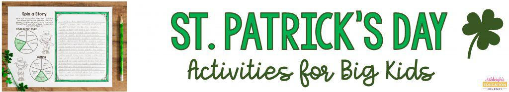St. Patrick's Day Activities for Big Kids