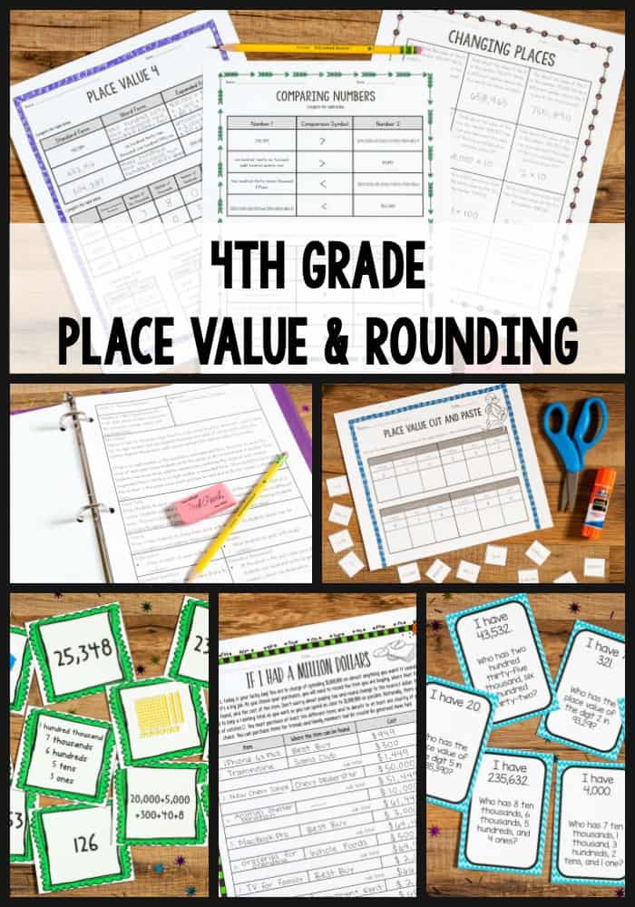 Tips For Teaching 4th Grade Place Value And Rounding The