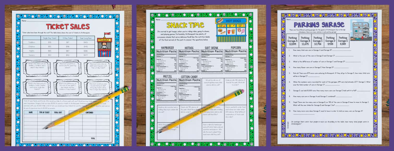 Addition and Subtraction for 3rd and 4th Grade - Ashleigh\'s ...