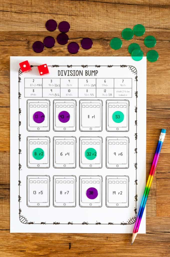 division bump