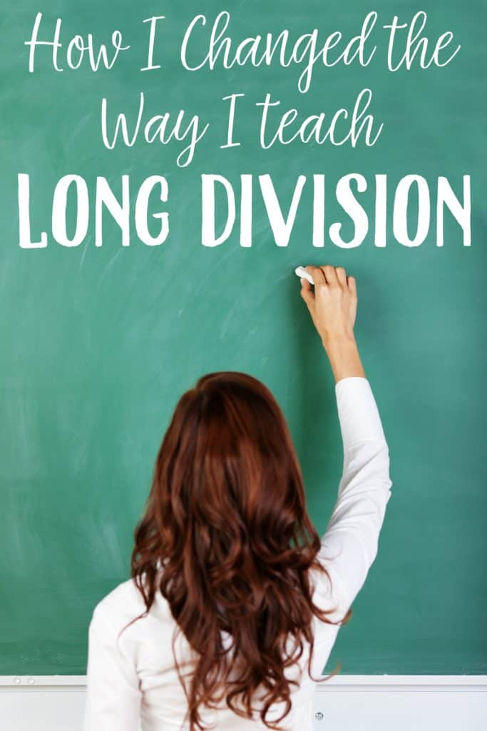 how to teach long division easily