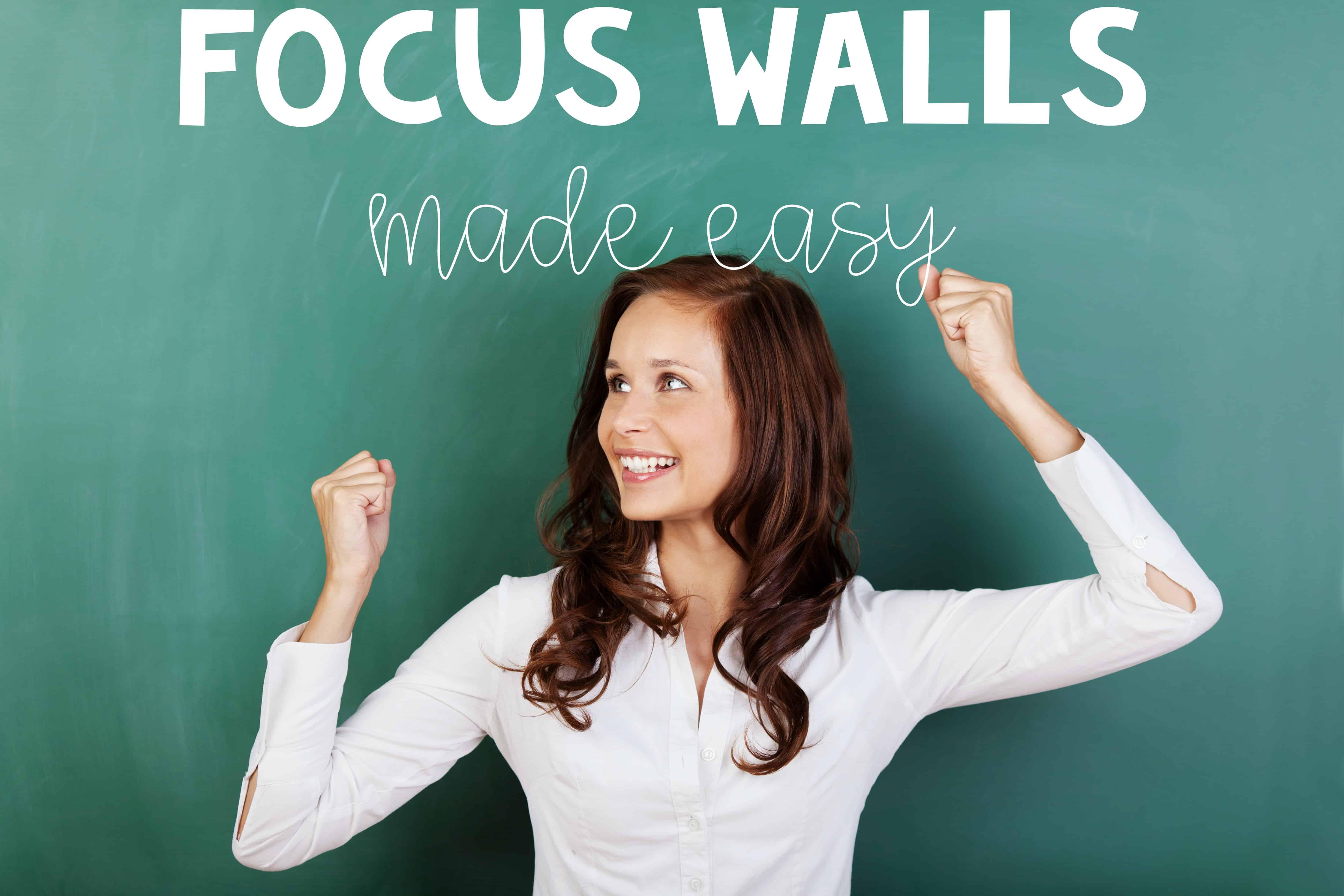 Classroom Focus Wall Ashleigh S Education Journey