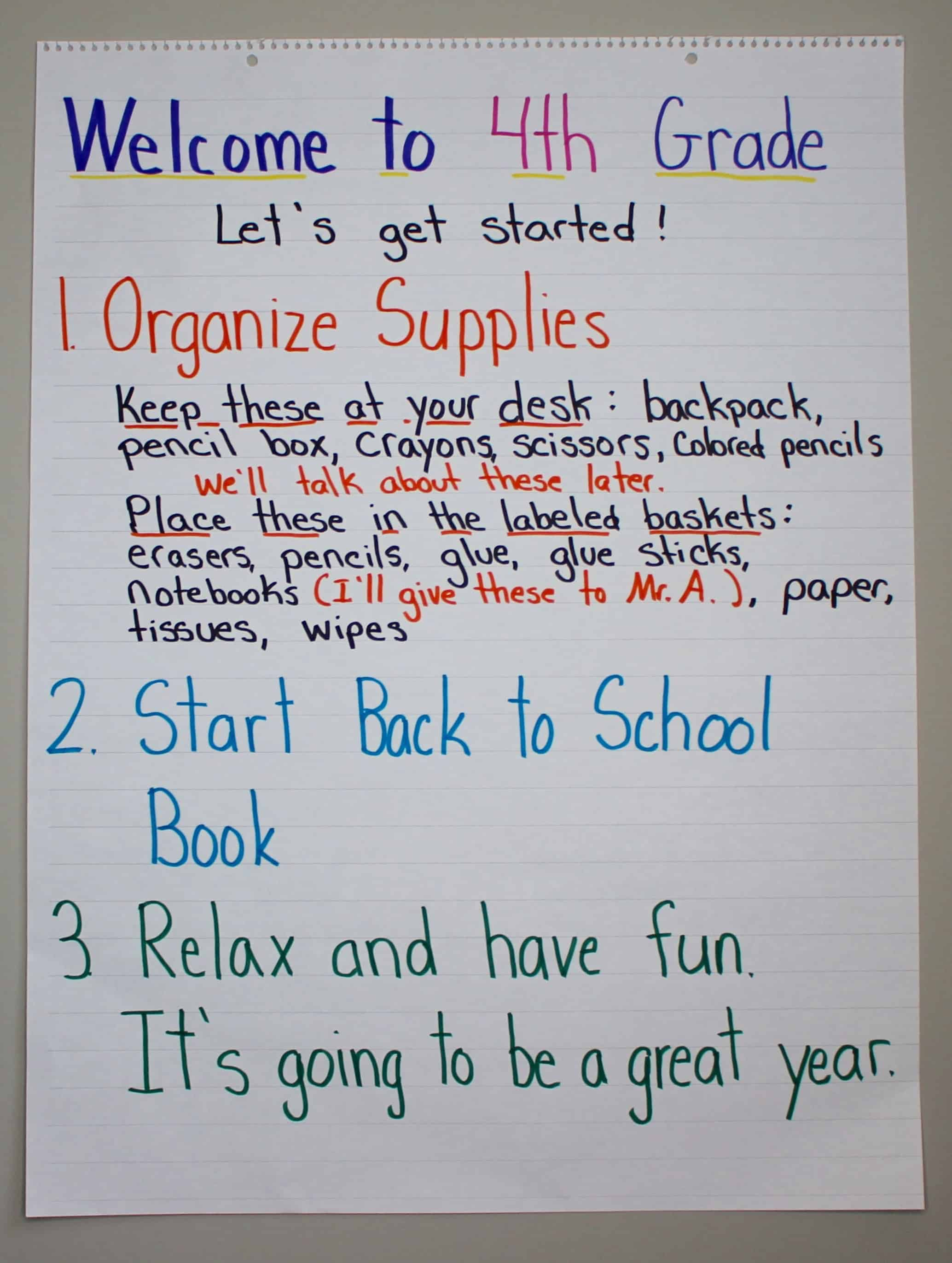 First Day Of School Ideas And Lessons To Get You Started