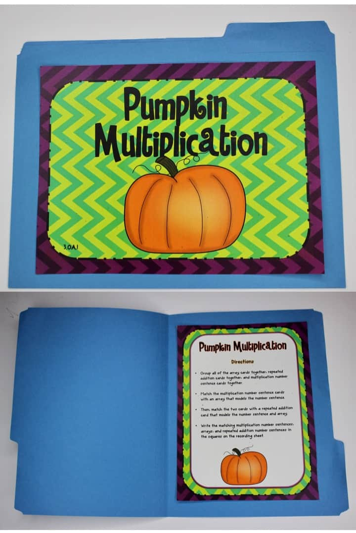 Halloween Math Centers - Ashleigh\'s Education Journey