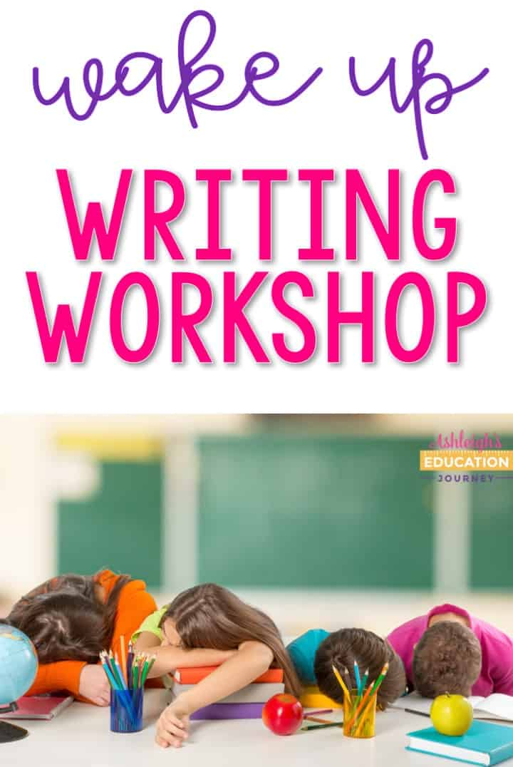 Get started with writing workshop! Your students won't sleep during these lessons!