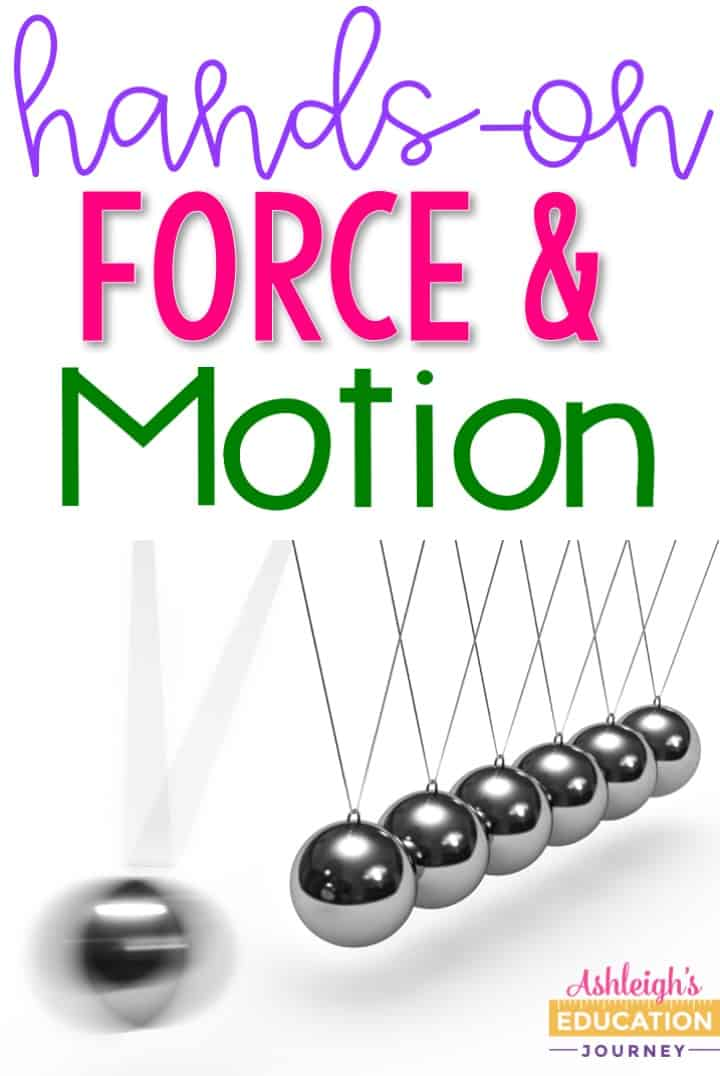 Students will love these 9 hands-on force and motion activities.