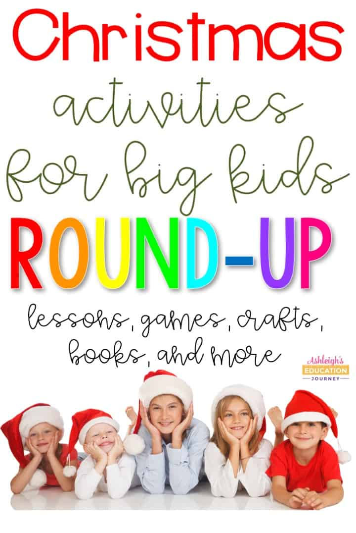 This collection of Christmas activities will keep students engaged during the busy Christmas season!