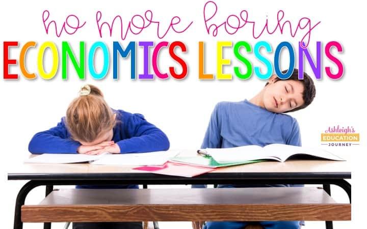 No More Boring Economics Lessons Ashleigh S Education Journey