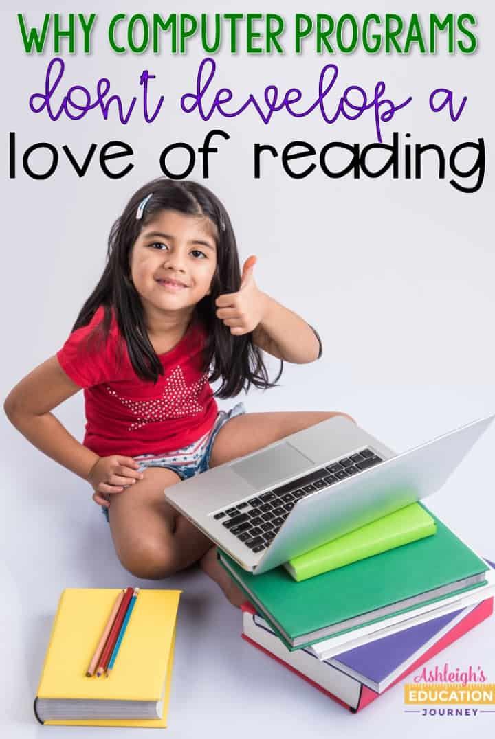 I've never seen a student fall in love with a computer reading passage. Learn how to develop life long readers through independent reading.