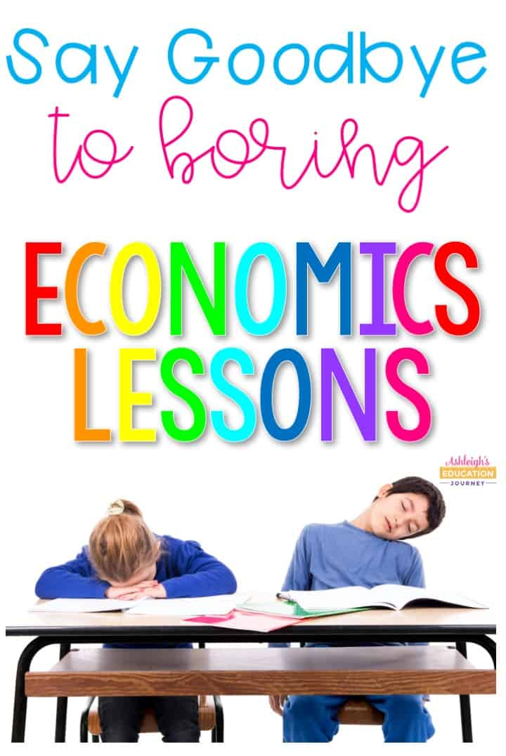 Keep economics lessons fun and relevant for students with these engaging activities