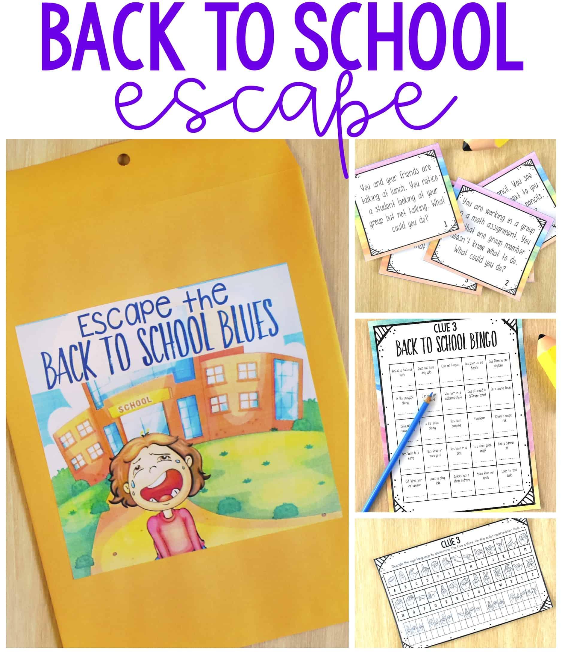 Back to School Escape