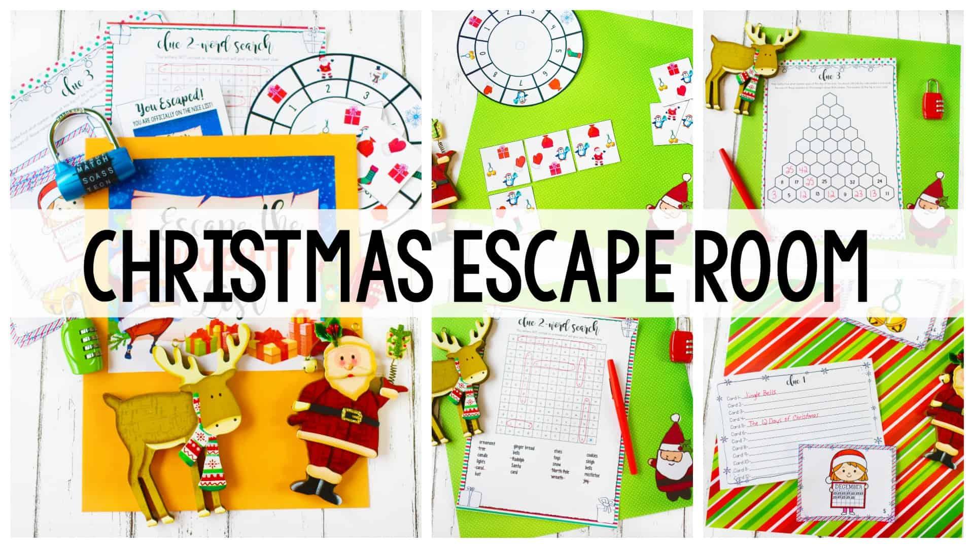 Christmas Escape Room Ashleigh S Education Journey