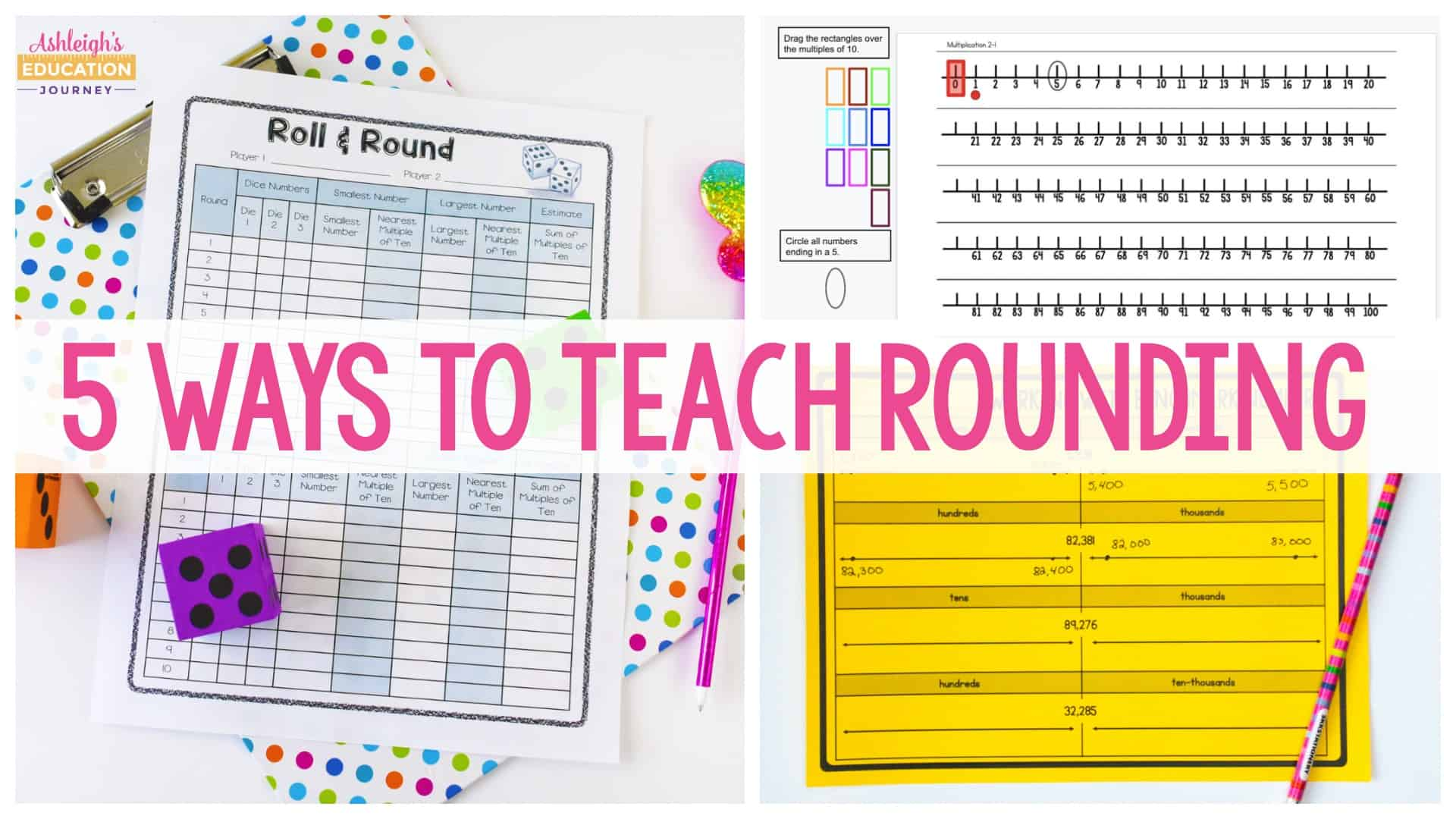 5 Ways to Teach Rounding