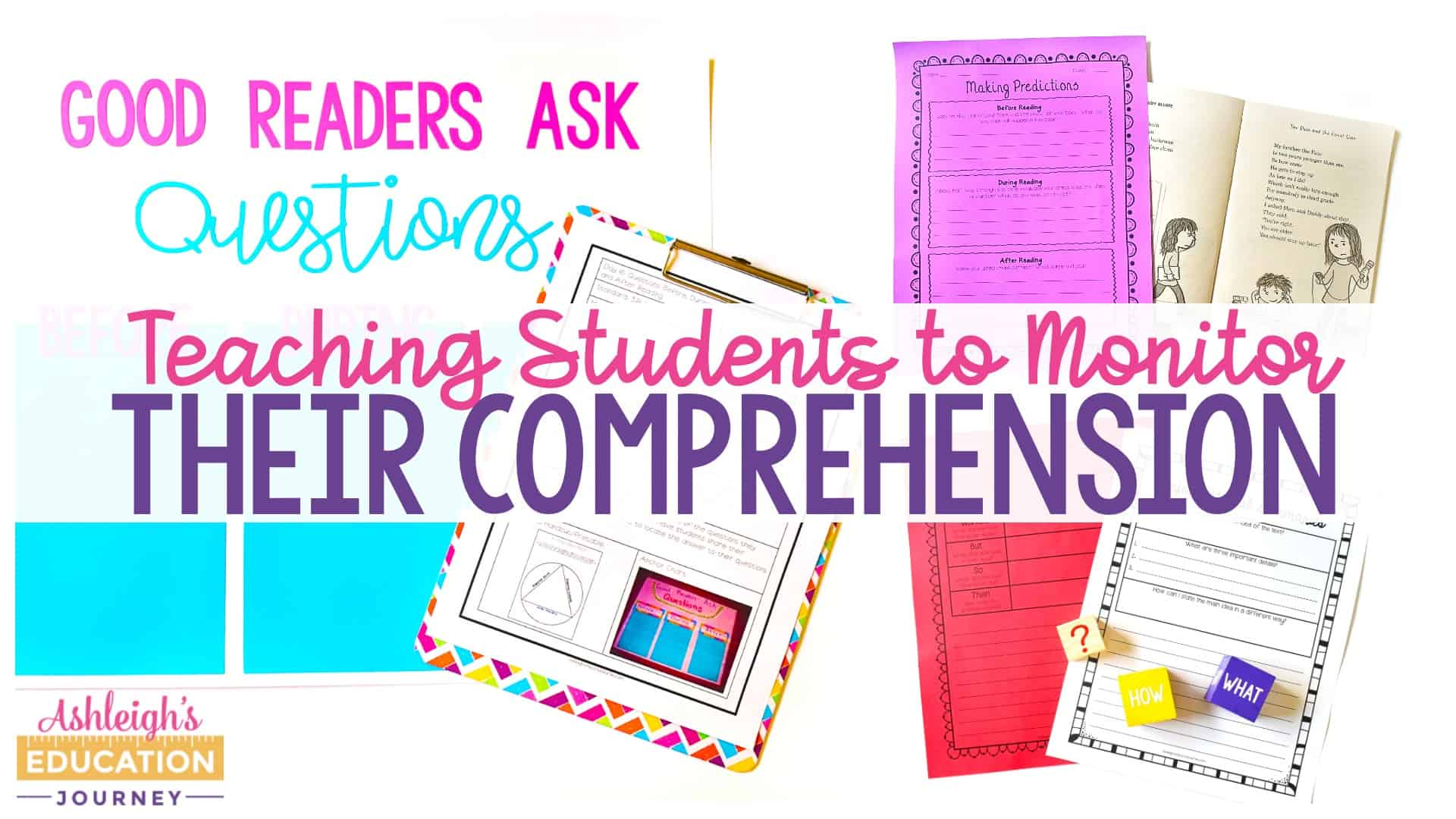 Teaching Students to Monitor Their Comprehension Header