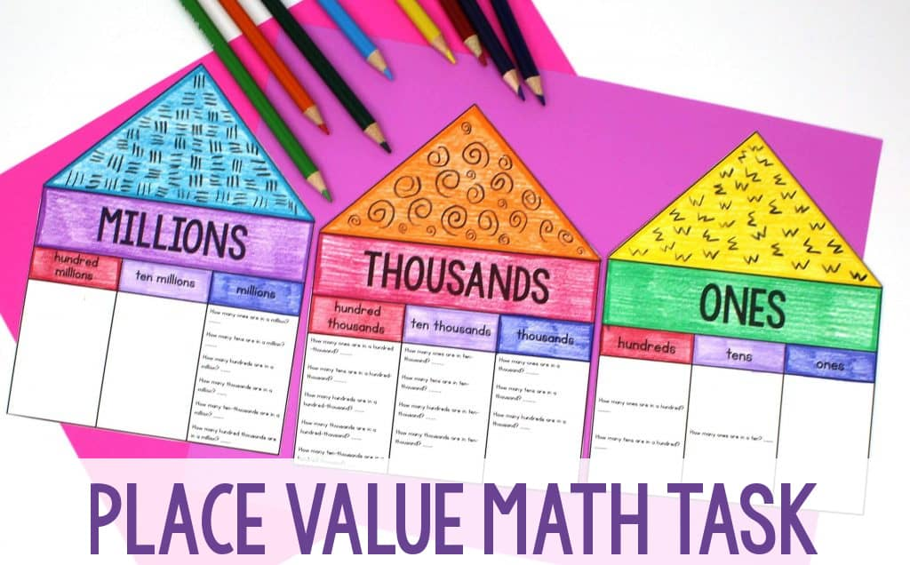 Place Value Math Task